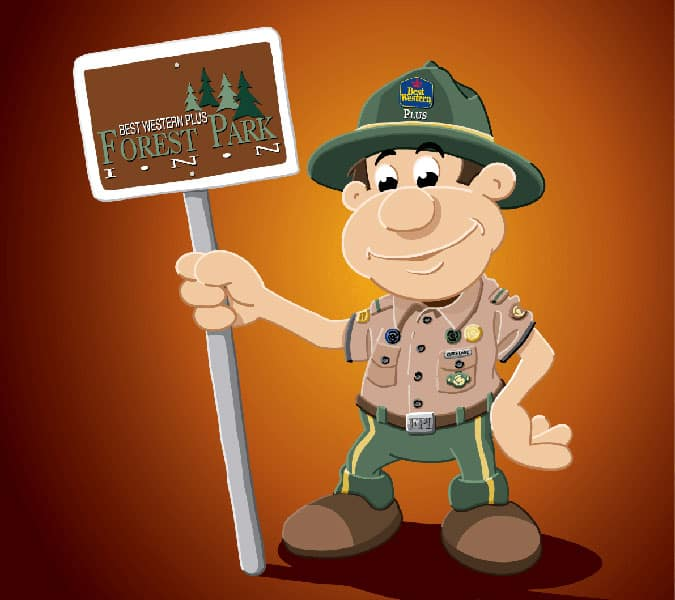 Welcome Ranger Roy to the Best Western PLUS Forest Park Inn Family