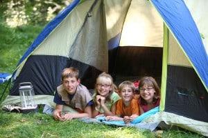 Camping at Casa de Fruta