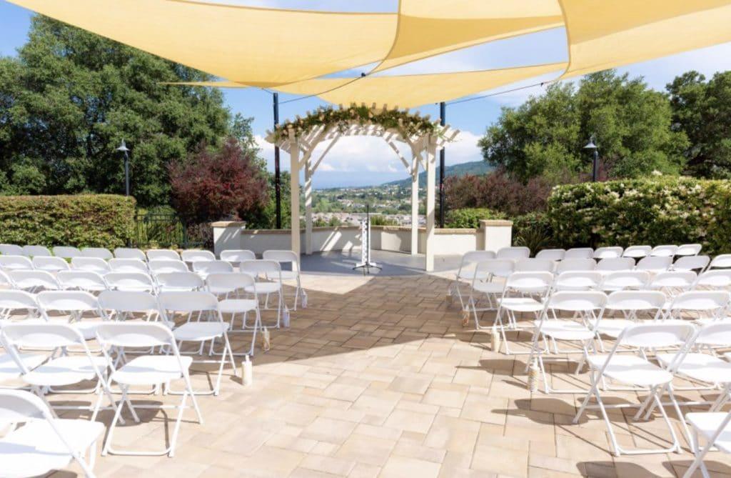 lodge on the hill beautiful California wedding venue